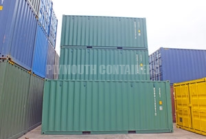 Plymouth 20ft Container Sales
