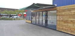 Container Awning Options Plymouth