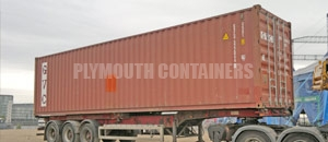 High Cube Specialised Container Plymouth